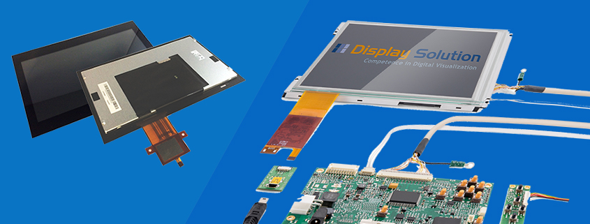 TFT Display-Kits und Touchdisplays Total Solution Embedded Touch LCDs