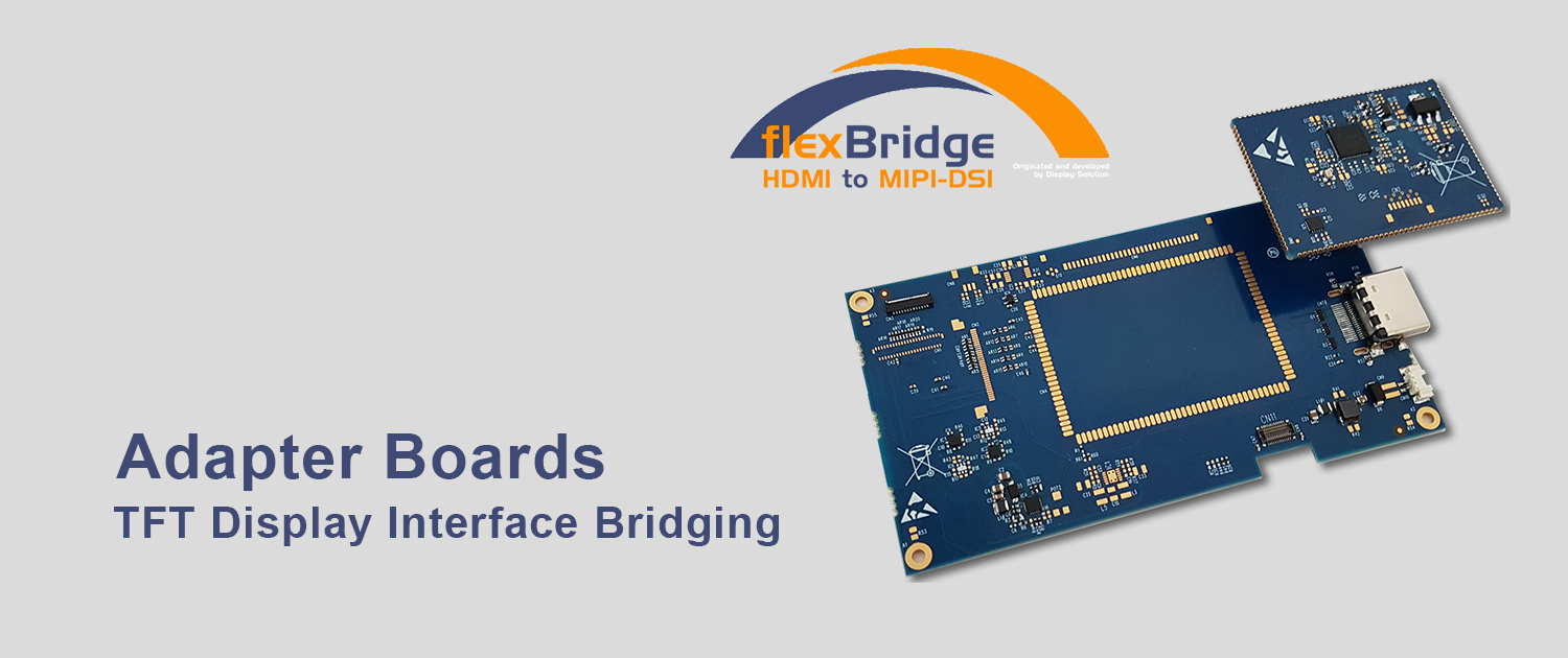 TFT Display LCD Panel Interface Bridging Adapter Solutions