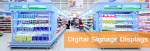 in-store digital signage tft displays und lcd panels sowie MediaPlayer