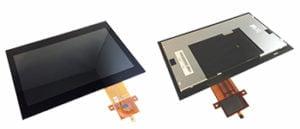 Total Solution TFT Displays sind LCD Panels mit bereits im Herstellungsprozess integriertem Touchscreen