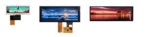 ultra wide stretched Bar Type TFT Displays für Panorama Darstellung im breiten Seitenformat