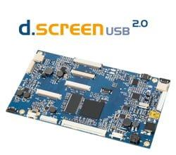 USB 2.0 TFT Display Controller Board zur USB2.0 Ansteuerung von Industrie LCD Panels