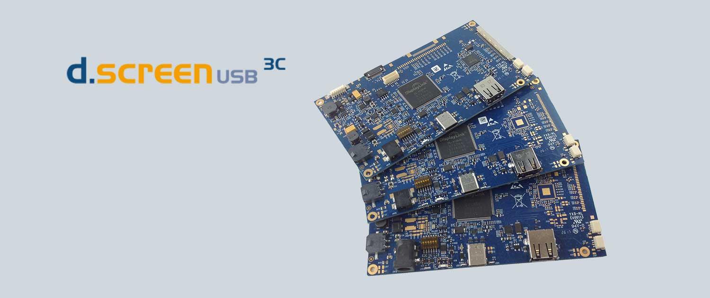 USB3 Type-C LCD Control Board