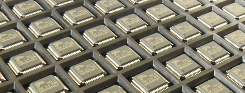 USB Chips und ICs von DisplayLink Multi Monitor Technology und Hub Control Bausteine